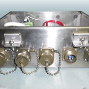 Stainless steel panel enclosure