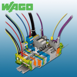 WAGO Pluggable Rail-Mounted Terminal Blocks