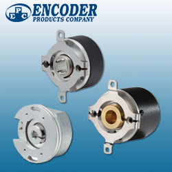 Encoder Products Company Incremental and Thru Bore Encoders