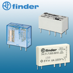 Finder PCB Relays