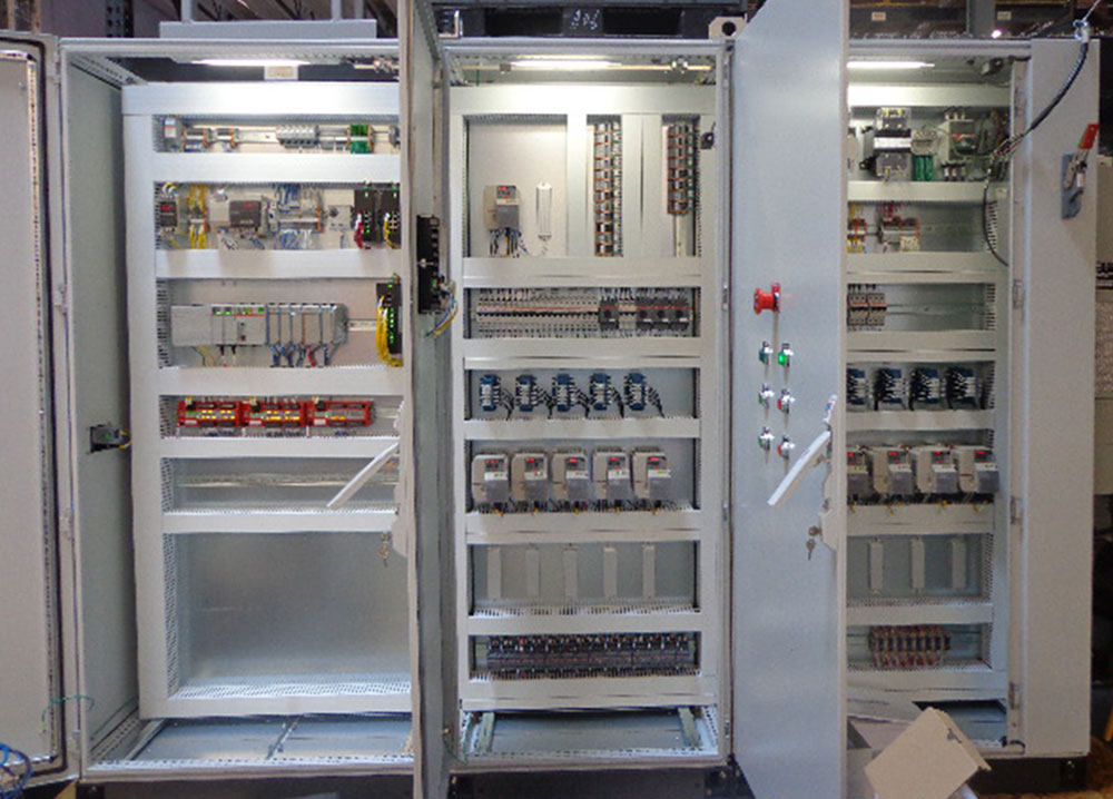 HVAC Assembly Line Control Panel