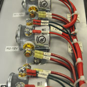 Control panel precision wiring