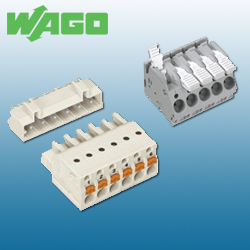 WAGO PCB Terminal Blocks and Connectors
