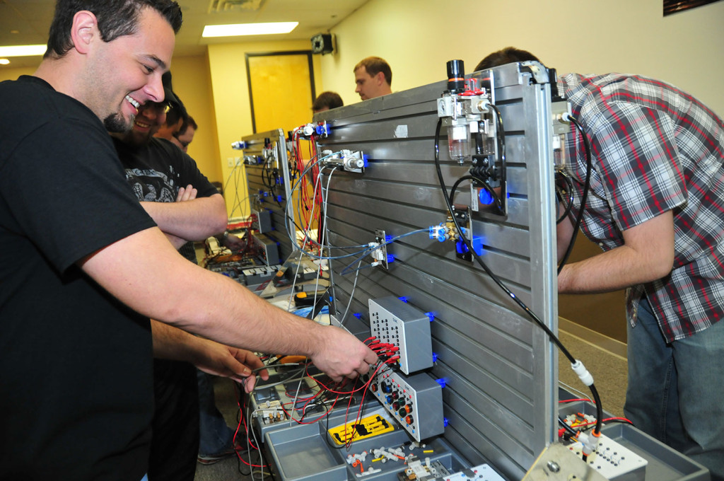 SMC Electro-Pneumatics Training