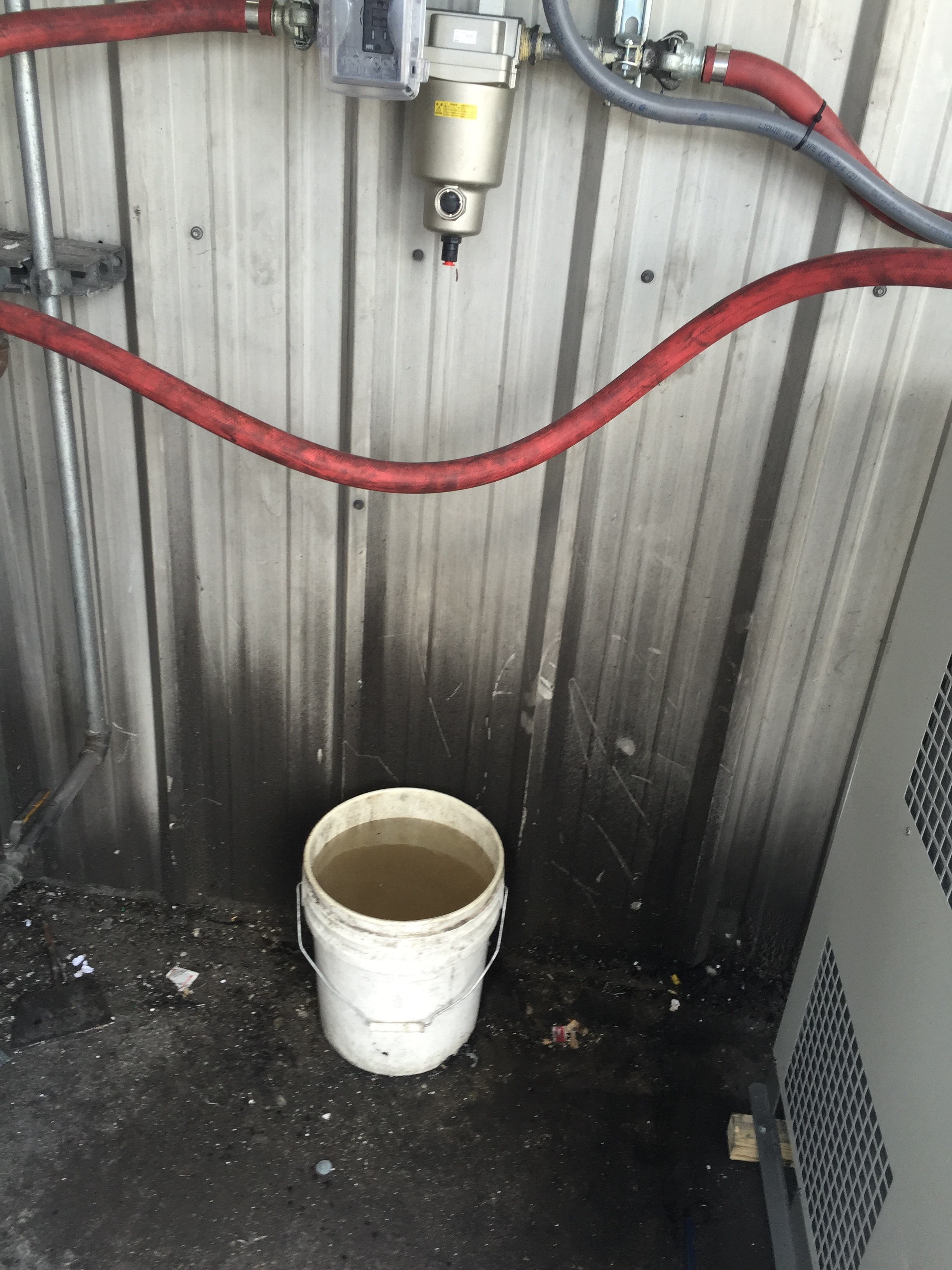 This SMC air dryer solution extracted nearly five gallons of moisture and oil from the facilities pneumatic system. The same moisture and oil that previously was passed through to the machine tool.